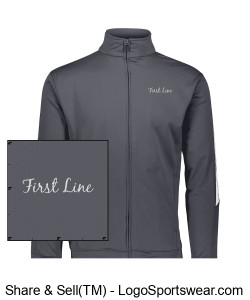 TDC Track Jacket - Unisex Design Zoom